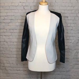 Black and White Blazer H&M Size 2